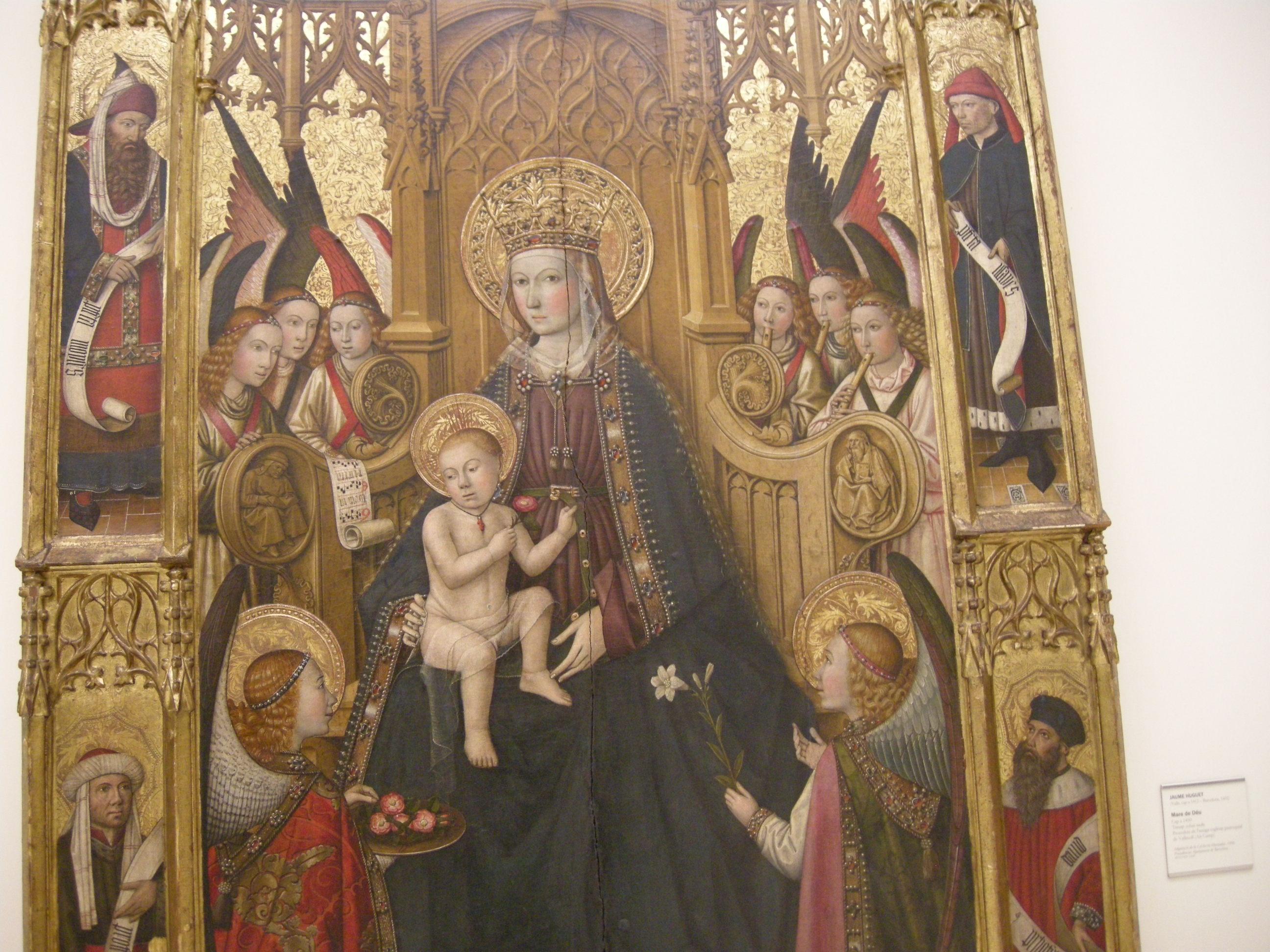カタルーニャ美術館の作品