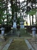 武田信玄の墓地